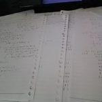 今日も勉強していた、でもずっと自問自答を繰り返し憂鬱気味。。